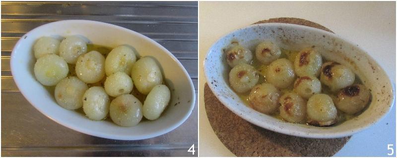 cipolline al forno in agrodolce ricetta facile per cucinare cipolle borettane il chicco di mais 2 cuocere al forno