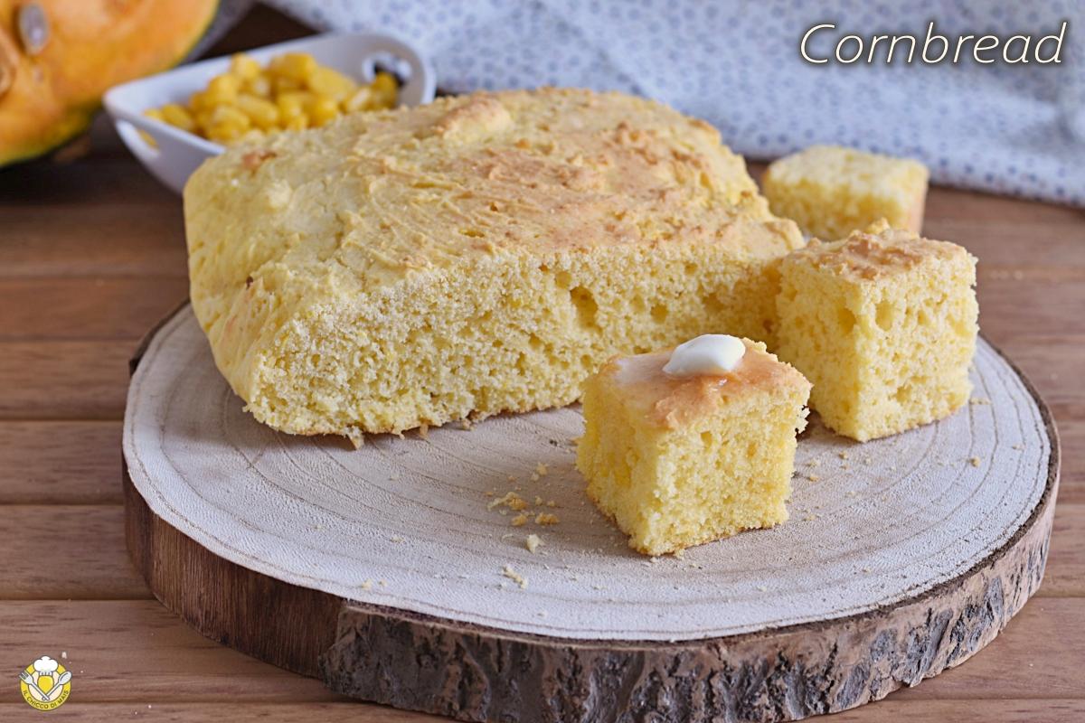 cornbread pane di mais del ringraziamento ricetta americana per il thanksgiving anche glutenfree il chicco di mais