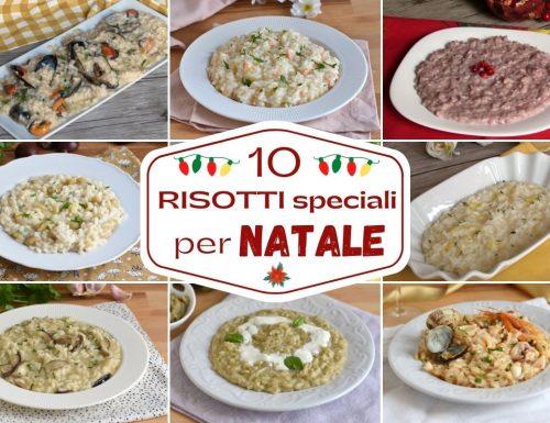 10 risotti per Natale