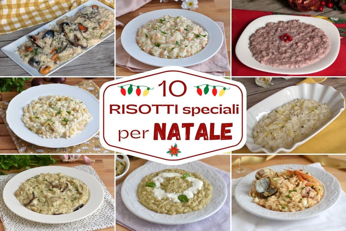 risotti per natale speciali ricette facili classiche e originali di pesce vegetariani il chicco di mais