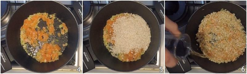 risotto al salmone affumicato cremoso ricetta facile primo di pesce economico raffinato il chicco di mais 2 tostare il riso