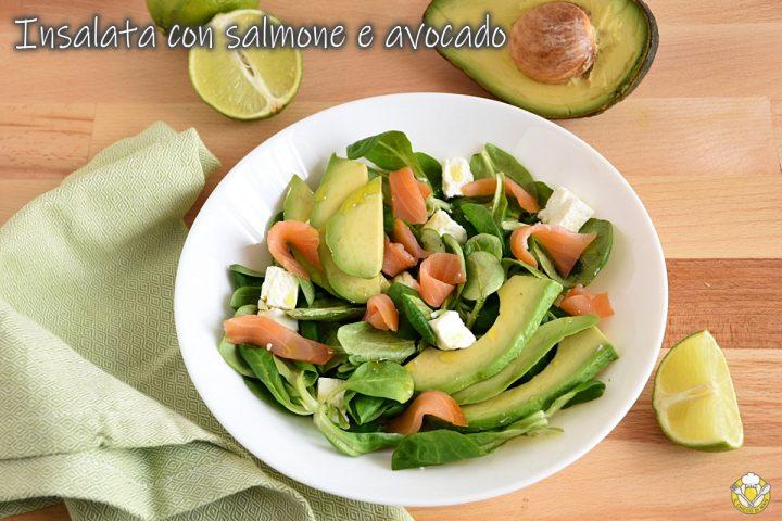 insalata con salmone e avocado ricetta antipasto di pesce veloce e sfizioso il chicco di mais