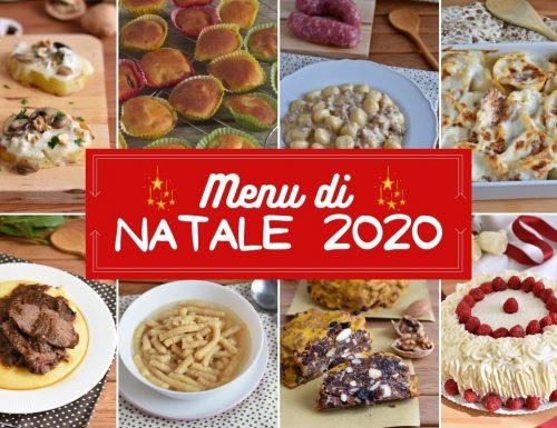 Menu di Natale 2020: ricette per il 25