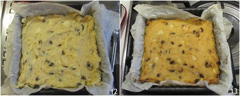 pinza o pinsa dolce di polenta torta veneta per la befana ricetta tradizionale per l'epifania il chicco di mais 5 cuocere la torta