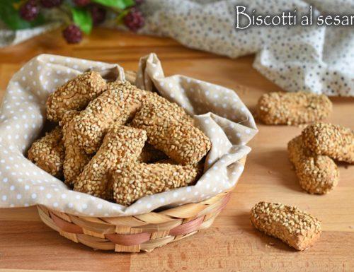 Reginelle: biscotti al sesamo siciliani