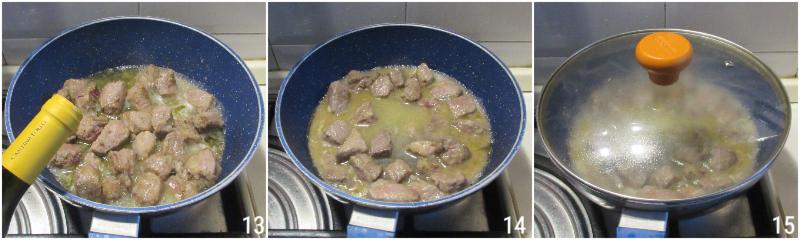 spezzatino ai funghi cremoso senza panna ricetta facile con manzo o vitello il chicco di mais 5 rosolare la carne