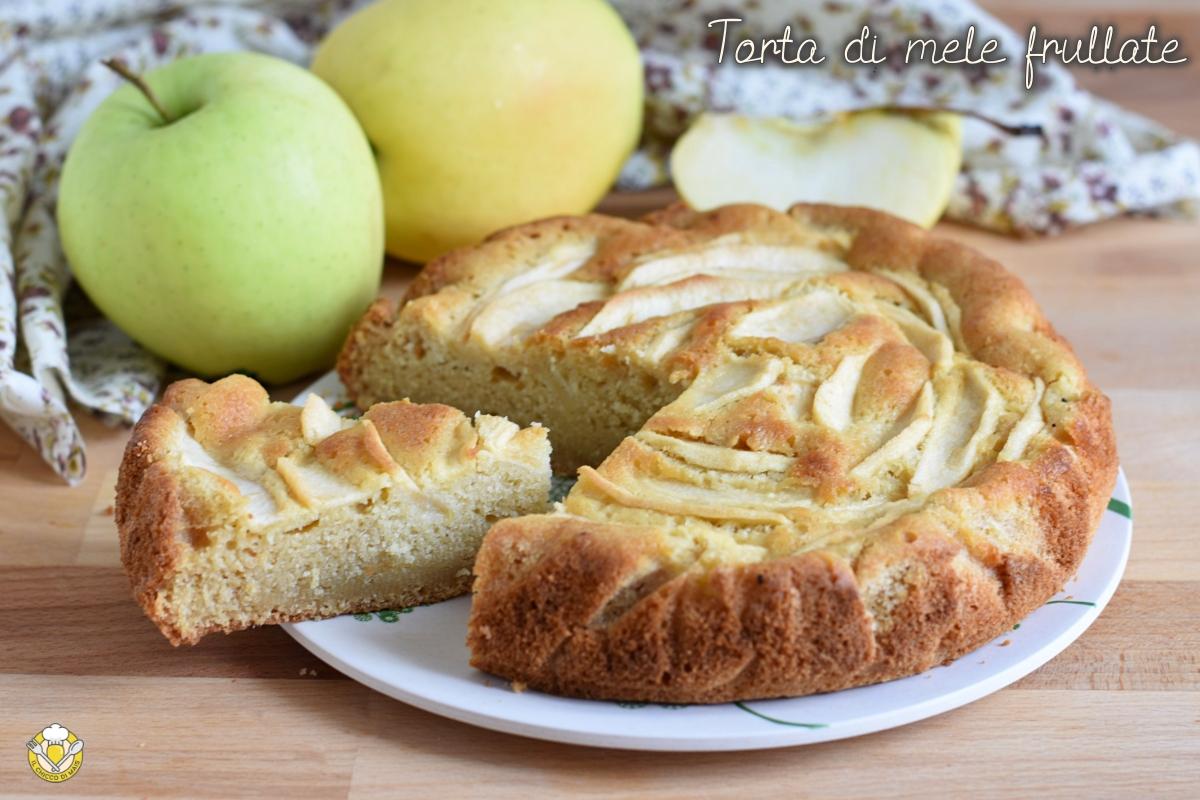 torta di mele frullate o pan di mela ricetta facile e veloce tutto nel frullatore il chicco di mais