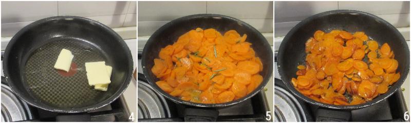 carote al burro saltate in padella ricetta contorno con carote facile e veloce il chicco di mais 2 cuocere le carote