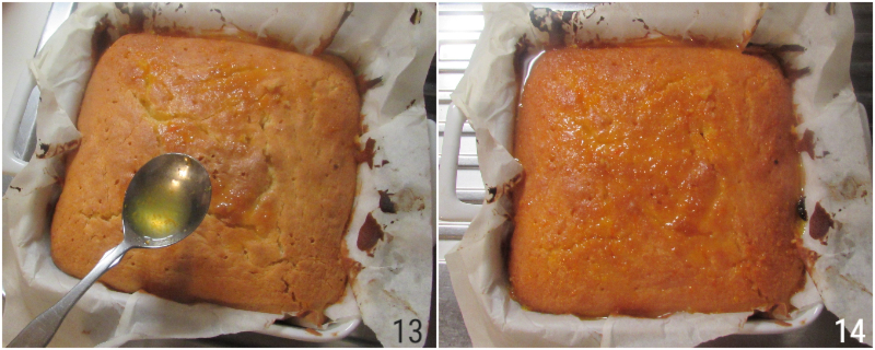 dolce soffice alle clementine con superficie umida e cremosa e bagna alle clementine ricetta il chicco di mais 5 bagnare torta