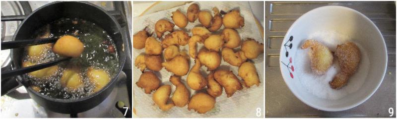 frittelle veloci al cucchiaio senza lievitazione senza lievito di birra anche senza glutine il chicco di mais 2 friggere le castagnole