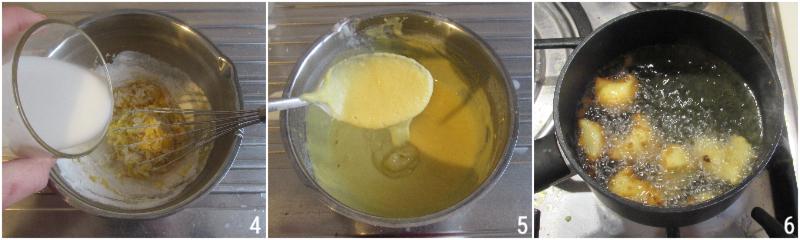 frittelle veloci al cucchiaio senza lievitazione senza lievito di birra anche senza glutine il chicco di mais 3 passarle nello zucchero