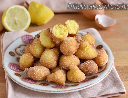 Frittelle veloci al cucchiaio