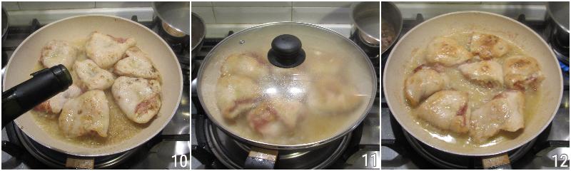fagottini di pollo ripieni di prosciutto e formaggio ricetta secondo veloce cremoso filante il chicco di mais 4