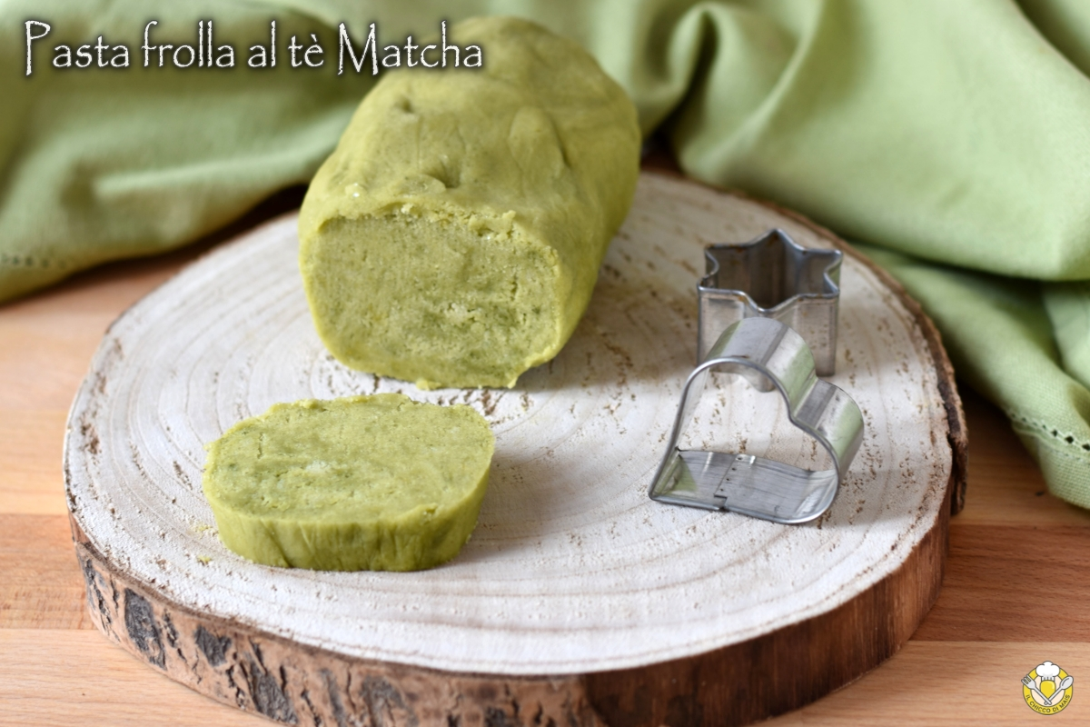 pasta frolla al tè matcha ricetta frolla verde con colori naturali il chicco di mais
