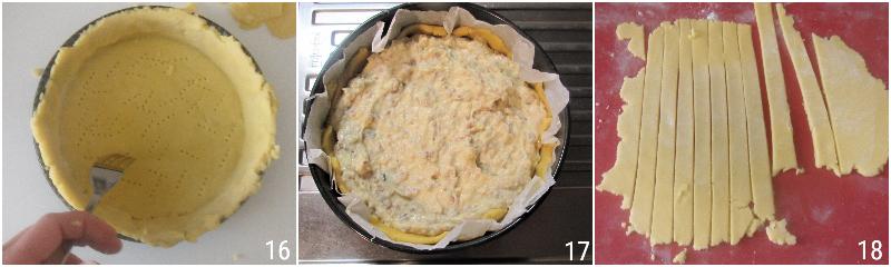 pastiera senza glutine con grano saraceno ricetta passo passo dolce di pasqua napoletano glutenfree il chicco di mais 6 farcire la pastiera