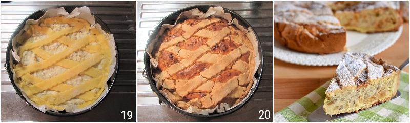 pastiera senza glutine con grano saraceno ricetta passo passo dolce di pasqua napoletano glutenfree il chicco di mais 7 cuocere la pastiera