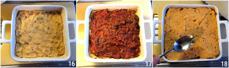 pitta di patate salentina ricetta originale pugliese torta di patate lesse con pomodoro olive e cipolle il chicco di mais 6 formare la pitta