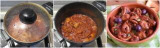 polipetti o moscardini alla luciana ricetta originale napoletana moscardini in umido con olive e pomodoro il chicco di mais 2 rosolarli in padella