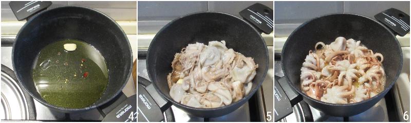 polipetti o moscardini alla luciana ricetta originale napoletana moscardini in umido con olive e pomodoro il chicco di mais 4 cuocere