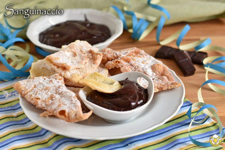 sanguinaccio al cioccolato dolce napoletano di carnevale per accompagnare chiacchiere frappe ricetta facile con video il chicco di mais