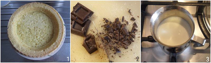 crostata morbida farcita con crema al cioccolato e panna montata ricetta facile e veloce il chicco di mais 1 fare la base