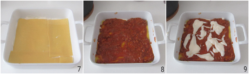 lasagne al ragù bolognese ricetta emiliana lasagne senza mozzarella con besciamlla e sugo di carne il chicco di mais 3 comporre la lasagna