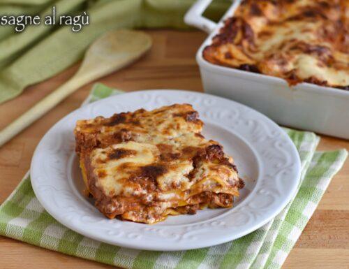 Lasagne al ragù bolognese