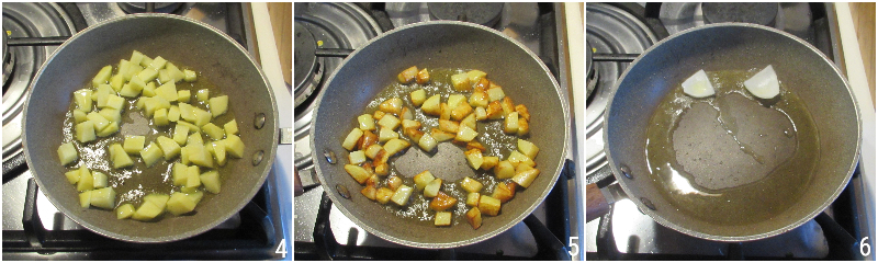 uova alla contadina con patate pomodoro e formaggio ricetta facile e veloce salvacena il chicco di mais 2 rosolare le patate