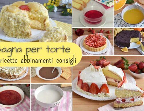 Bagna per torte: abbinamenti, ricette e consigli