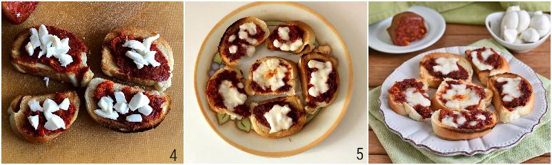 crostini alla nduja e mozzarella ricetta calabrese per usare la nduja piccante il chicco di mais 2 cuocere le bruschette