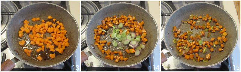 insalata di lenticchie alla marocchina con uvetta carote e cipollotto ricetta estiva light il chicco di mais 5 cuocere le carote