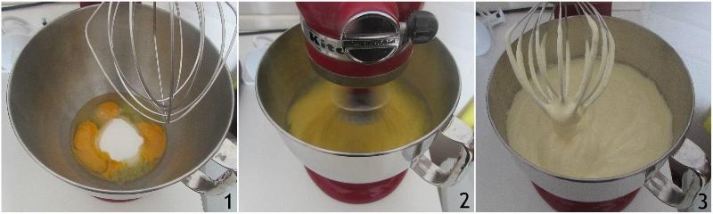 pan di spagna con panna e fragole ricetta dolce facile e veloce torta di compleanno semplice il chicco di mais 1 montare uova e zucchero