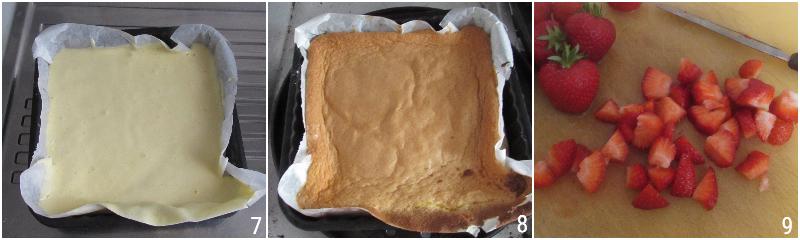 pan di spagna con panna e fragole ricetta dolce facile e veloce torta di compleanno semplice il chicco di mais 3 cuocere il pan di spagna