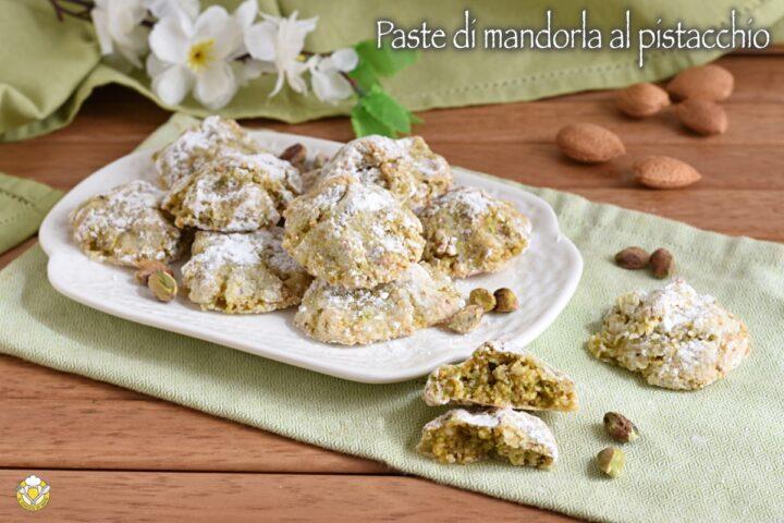 paste di mandorla al pistacchio ricetta pasticcini siciliani con solo albumi al pistacchio di bronte il chicco di mais