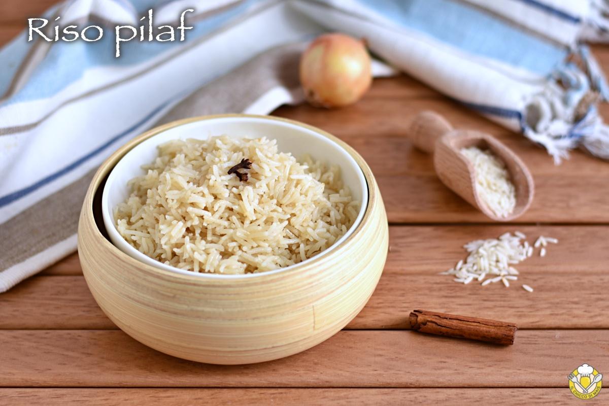 riso pilaf al forno o sul fornello ricetta turca riso basmati cotto per assorbimento il chicco di mais