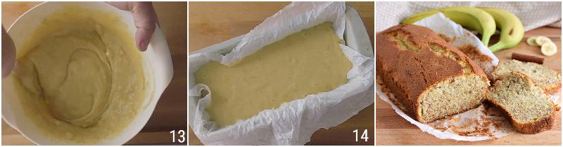 banana bread senza glutine ricetta facile plumcake o torta alla banana con farina di riso soffice il chicco di mais 5 cuocere il plumcake