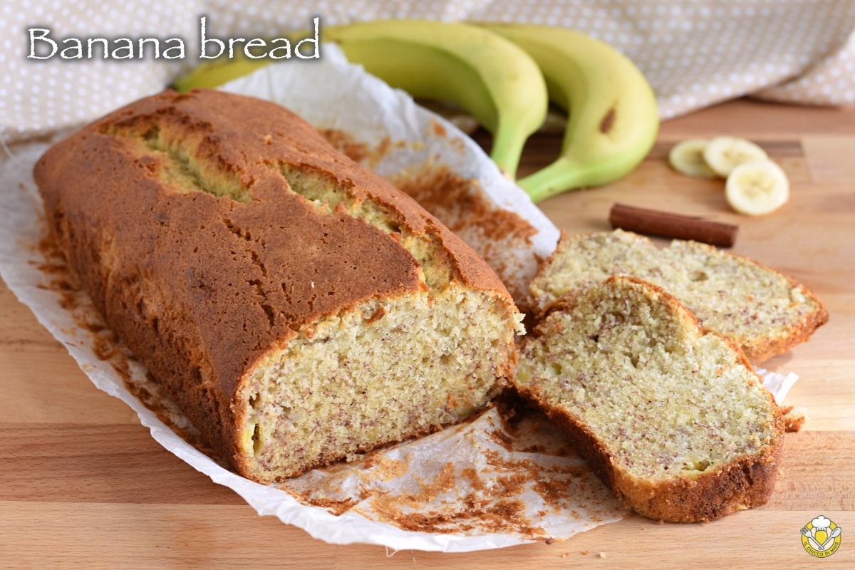 banana bread senza glutine ricetta facile torta alla banana con farina di riso soffice il chicco di mais