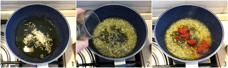 pasta alla 'nduja ricetta calabrese primo veloce piccante col salame morbido il chicco di mais 1 fare soffritto