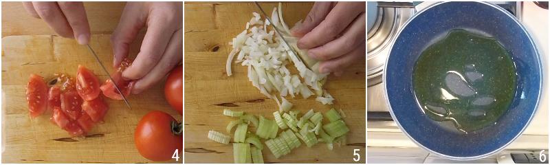 caponata senza frittura ricetta light caponata siciliana con peperoni e melanzane il chicco di mais 2 tagliare cipolla e sedano