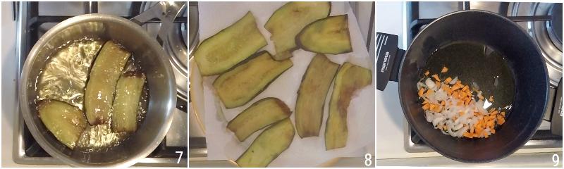 moussaka greca ricetta originale con patate e melanzane fritte e strato alto di besciamella il chicco di mais 3 friggere le melanzane
