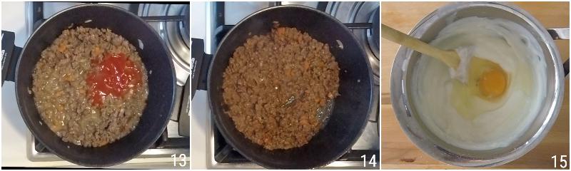 moussaka greca ricetta originale con patate e melanzane fritte e strato alto di besciamella il chicco di mais 5 cuocere macinato