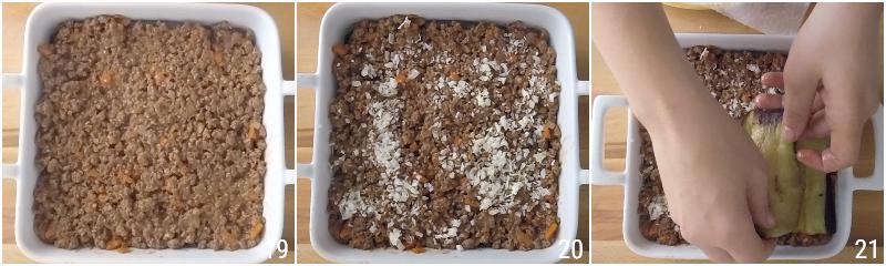 moussaka greca ricetta originale con patate e melanzane fritte e strato alto di besciamella il chicco di mais 7 strato melanzane e carne