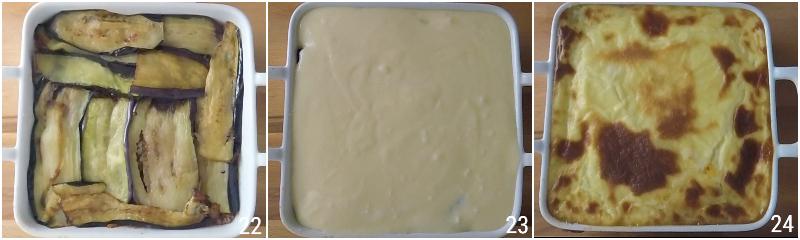 moussaka greca ricetta originale con patate e melanzane fritte e strato alto di besciamella il chicco di mais 8 strato besciamella