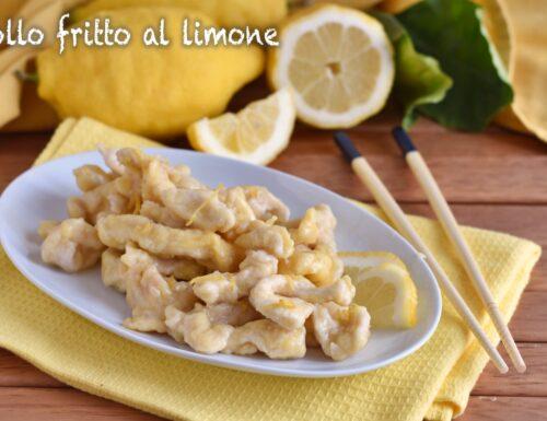 Pollo fritto al limone cinese