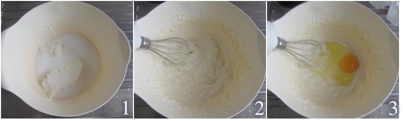 ciambella al mascarpone con gocce di cioccolato alta e soffice il chicco di mais 1 montare mascarpone e zucchero