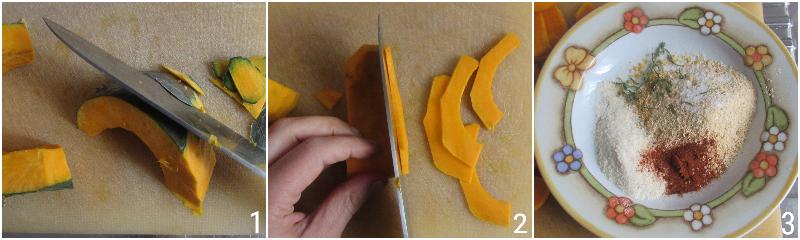 zucca gratinata al forno ricetta facile e veloce con pangrattato saporito speziato il chicco di mais 1 tagliare la zucca