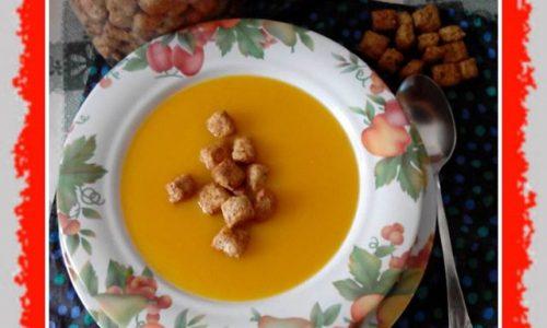 Crema di zucca con patate