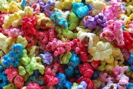 pop corn colorati