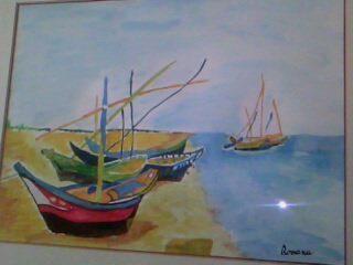 I miei quadri con tecnica ad olio