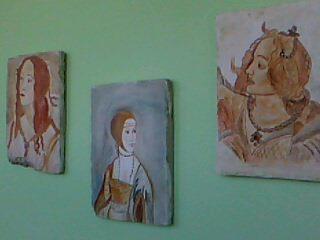 I miei affreschi